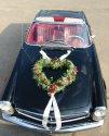 na autí pro nevěstu (jen jiná barva růžiček)