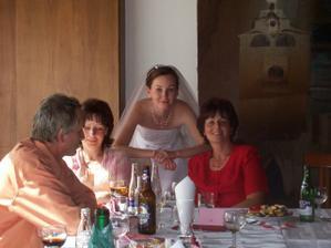 s mamkou a tetou/ mit Mama und Tante