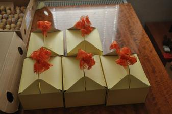 Krabičky na moravské koláčky