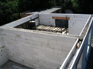 Obývák - stavba.