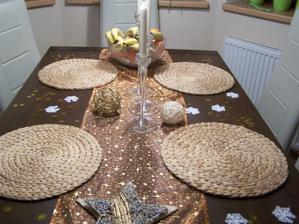 náš vánoční stůl