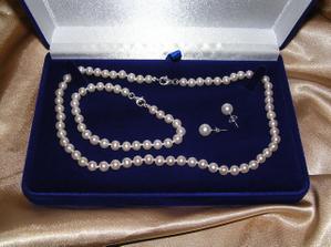 darcek ku promociam od priatelovej starkej :) perly som nikdy nechcela, ale teraz by som uz nemenila :)