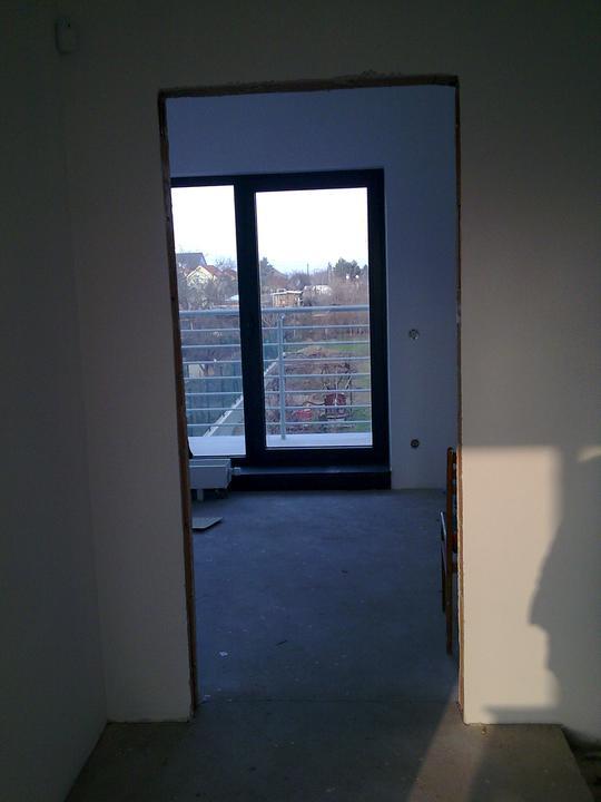 Príbeh našej stavby II - rok 2011 - Vstup do spálne - II.podlažie