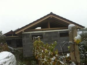 Krov na garáži 26.10.2012