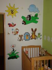 ...namalovala jsem to neteři do pokojíčku,aby se ji u tety hezky spinkalo:-)