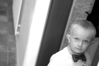 Nejmladší svatebčan Štěpa :-*