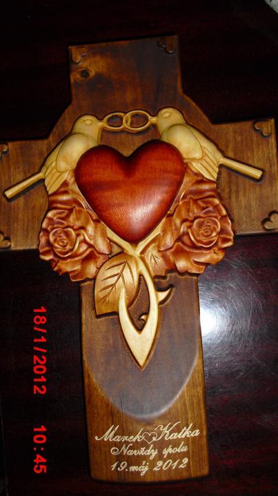 Čo už máme a sme šťastní :-) - Náš krížik,je prekrásny