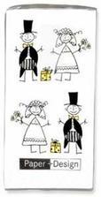 Svadobné vreckovky pre slzičky :-(