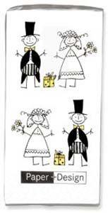 Čo už máme a sme šťastní :-) - Svadobné vreckovky pre slzičky :-(