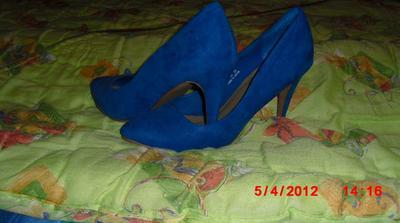 Moje topánočky k popolnočným šatám :)