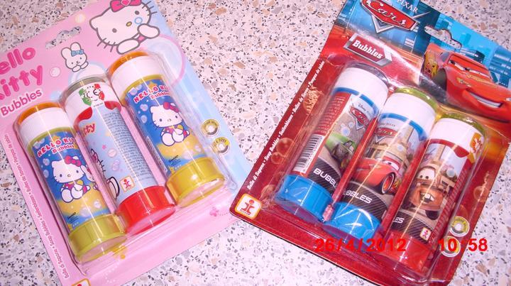 Čo už máme a sme šťastní :-) - Bublifuky pre detičky