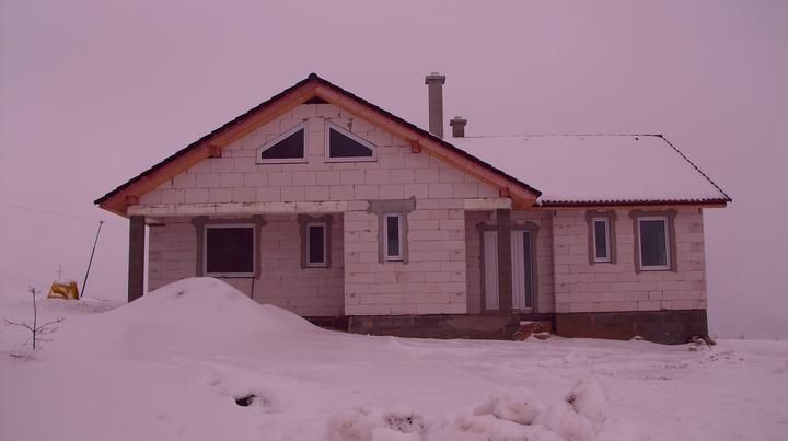 Náš domček prežil prvú zimu