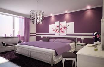 určitě fialová ložnice - má nejoblíbenejší barva :-)
