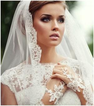 Závoj.... ?? a účes pod něj...?? - nádherná nevěsta !!!