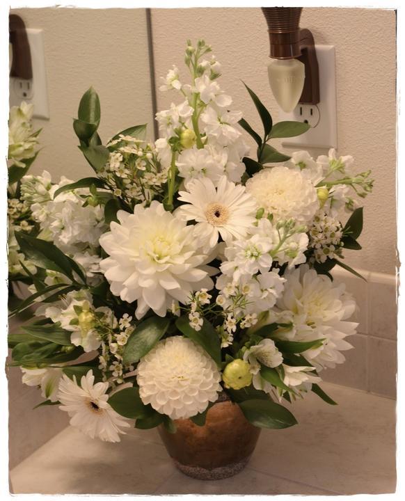 Wedding flowers 2013 - Jiřiny a gerbery nádhera !!!