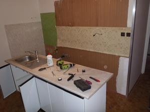 Demontáž bytového jádra ve dvou lidech trvá asi 2 hodiny