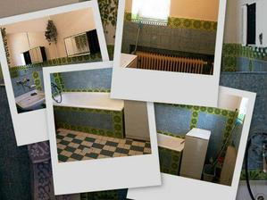 Tak tohle byla naše stará koupelna... :-P