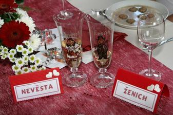 naše skleničky... od Wacinky :-)