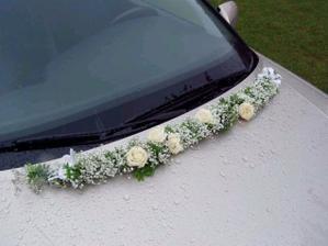 Tento způsob výzdoby auta je velice decentní a originální