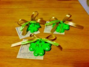 drobné dárky pro pozvané, ručně děláne