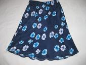 Tmave modra kvetovana sukne Next, vel. 38, 38