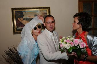 Tahle nevěsta se ženichovi moc nelíbila :o)