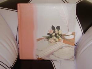albíčko na svatební fota (dárek od sestry ženicha)