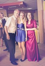 rodičia a sestra :)