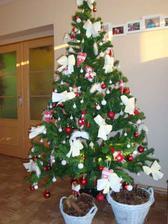 naš tohtoročný stromček, bielo červený