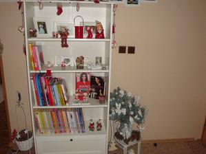 moja knižnica vo vianočnom