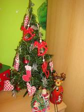 mini stromček v detskej