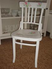 Reciklácia starej stoličky