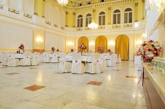 Kursalon Piestany ... nadherna miestnost a ako stvorena na svadby