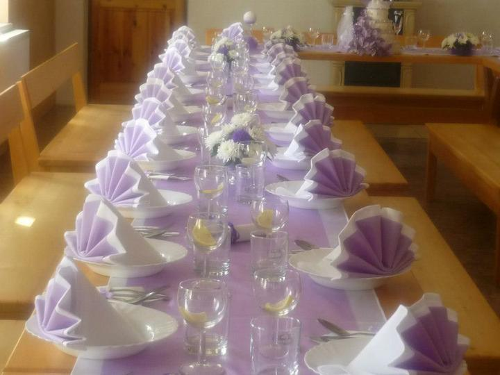 Moje představa - moje představa svatební tabule