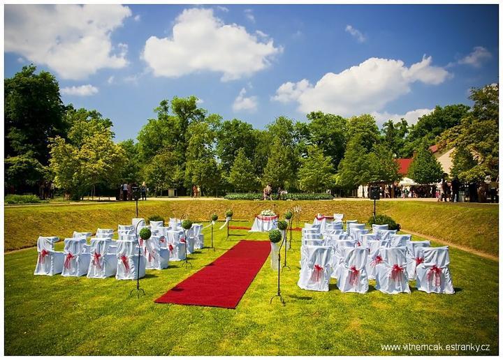 Moje představa - 2. možnost obřadu ... městský park Michalov