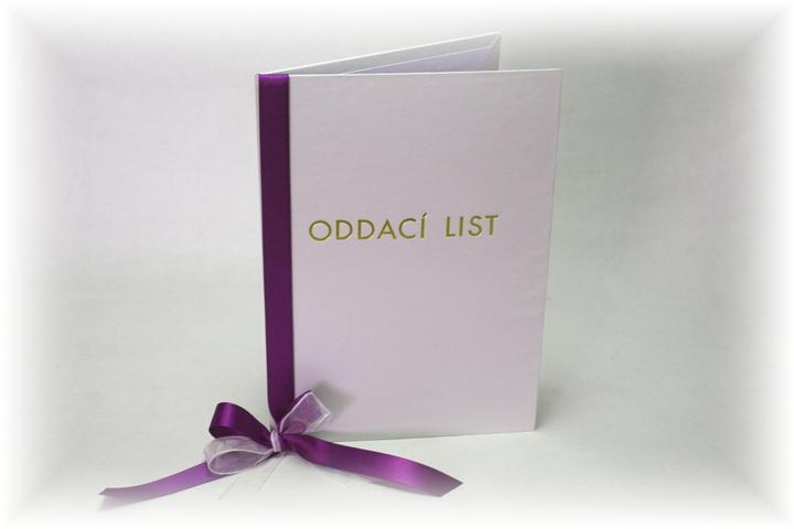 Moje představa - takovéto jednoduché bych chtěla mít ... i svatební album a knihu hostů