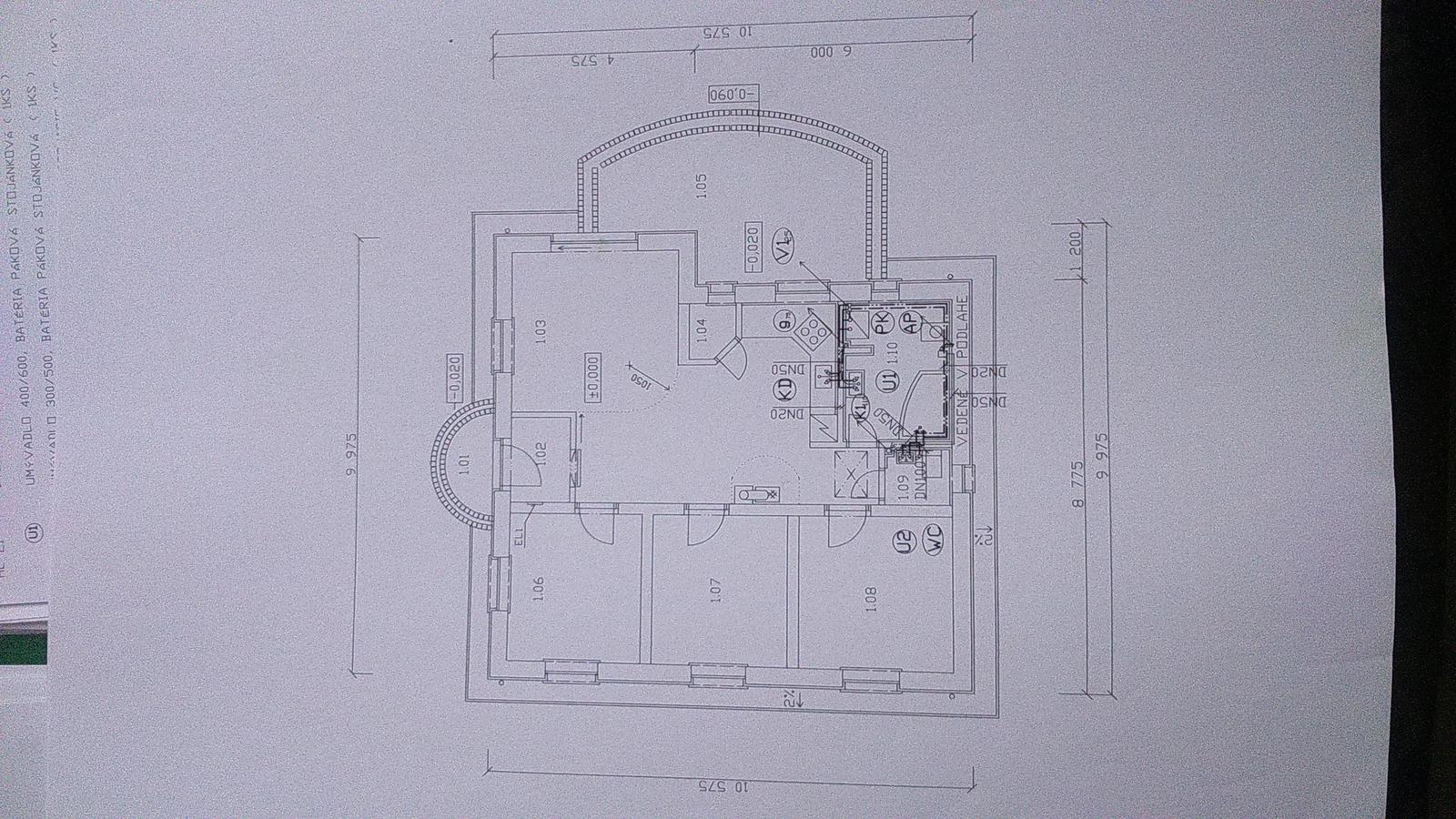 Projekt - rodinný dom - Obrázok č. 3