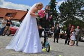 svatební šaty velikost 40 42 44 46 , 44