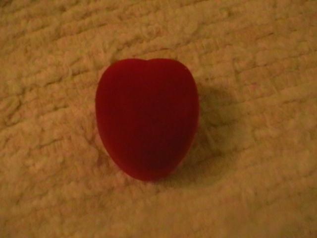 krabička v tvare srdca na obrúčky - Obrázok č. 2