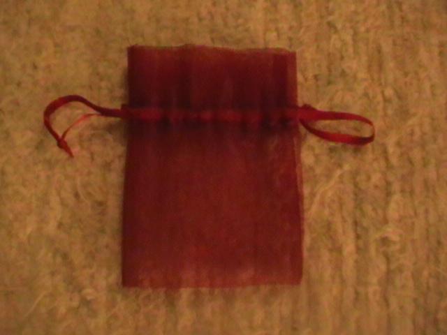 vrecko bordovej farby - Obrázok č. 1