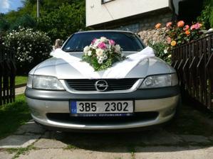 auto ženicha