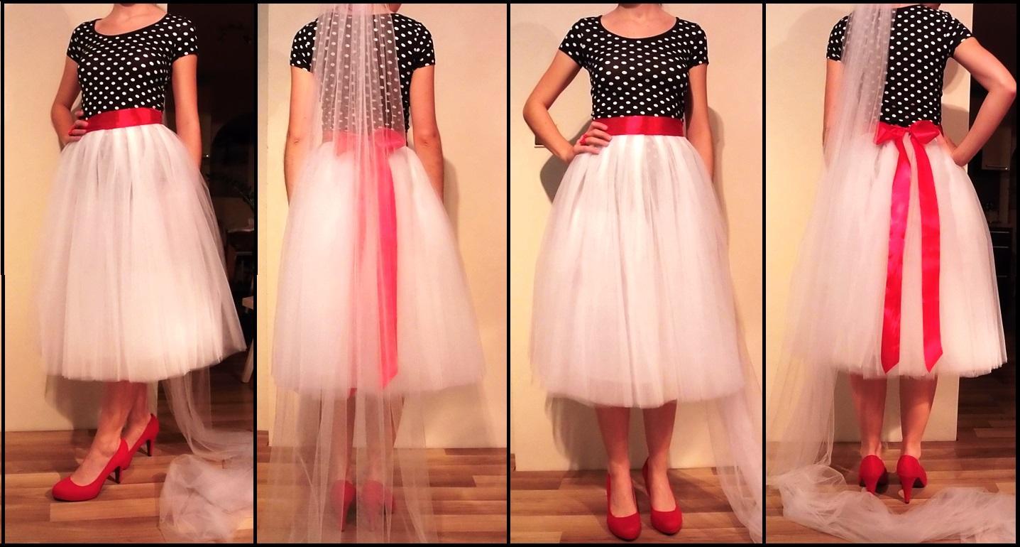 Tylová sukně s vhodným vrškem místo svatebních šat... - str. 2 06d991c3aa