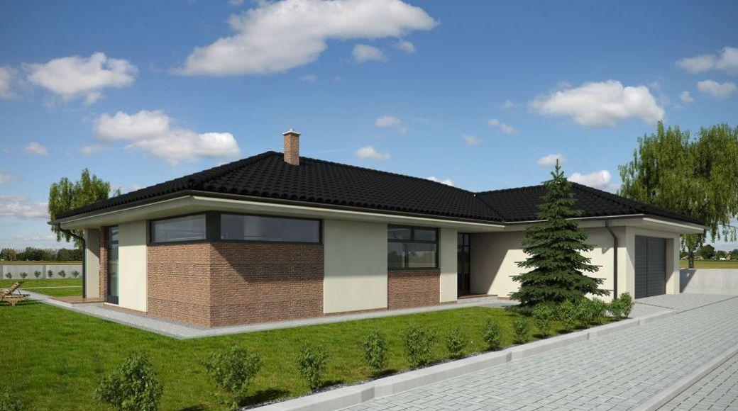 Nový favorit - bungalov 5+1 270m2 - zepředu