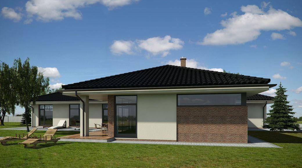 Nový favorit - bungalov 5+1 270m2 - z boku
