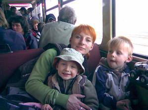 já,syn Vašík a synovec Míša