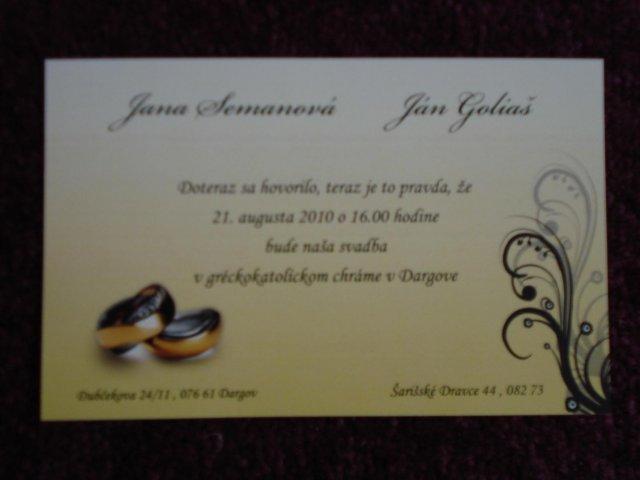 Janka a Janko..  uz sa to blizi  :)) - nasše oznamenie