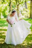 Krajkove svadobne saty, 40