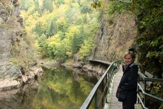 Já- Lucie - Riegrova stezka (listopad 2009)