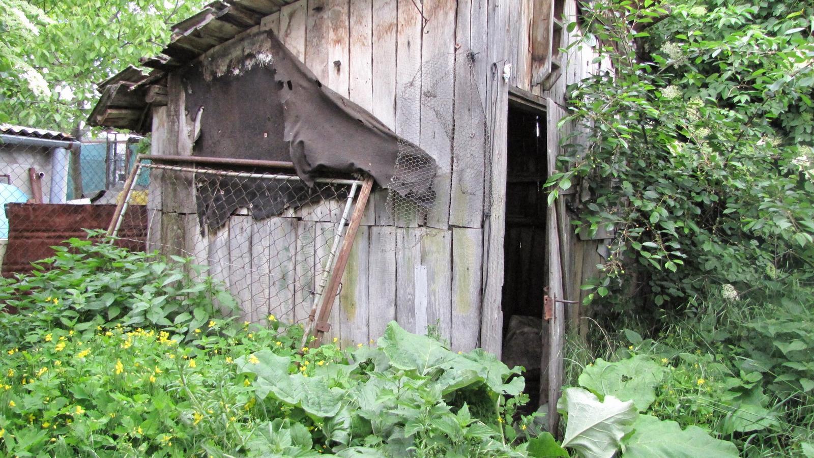 Rekonštrukcia starého domčeka - Superšopa.
