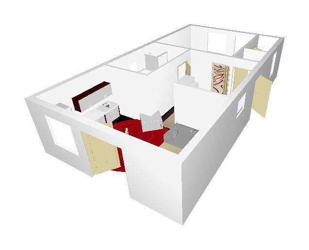 Rekonštrukcia starého domčeka - Tak nejak by to mohlo vyzerať v budúcnosti.
